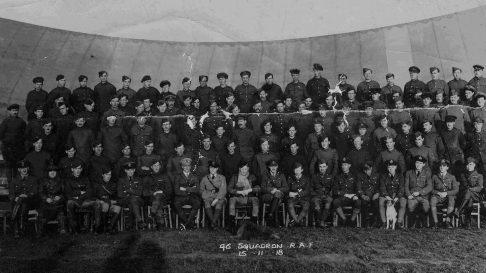 No 46 Squadron Heroes of Droglandt