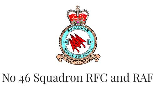No 46 Squadron RFC and RAF