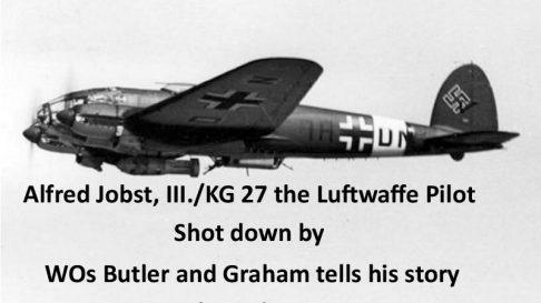 Alfred Jobst. Luftwaffe pilot tells his story. 1 Oct 1944