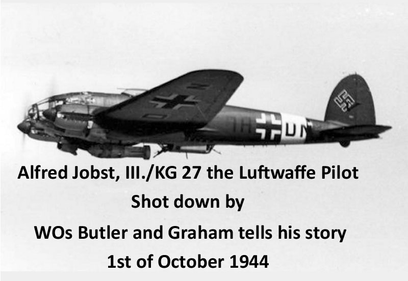 Alfred Jobst. Luftwaffe pilot tells his story. 1 Oct 194