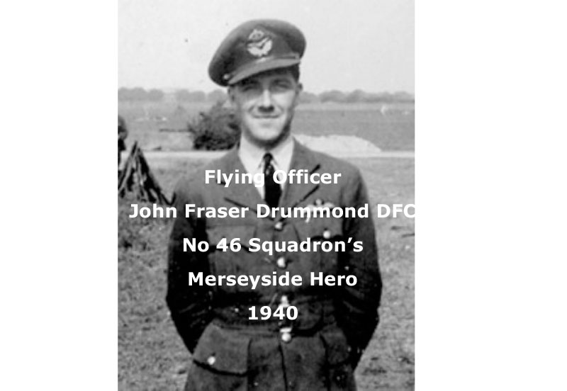 Flying Officer John Frazer Drummond