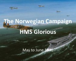 Norwegian Campaign and HMS Glorious