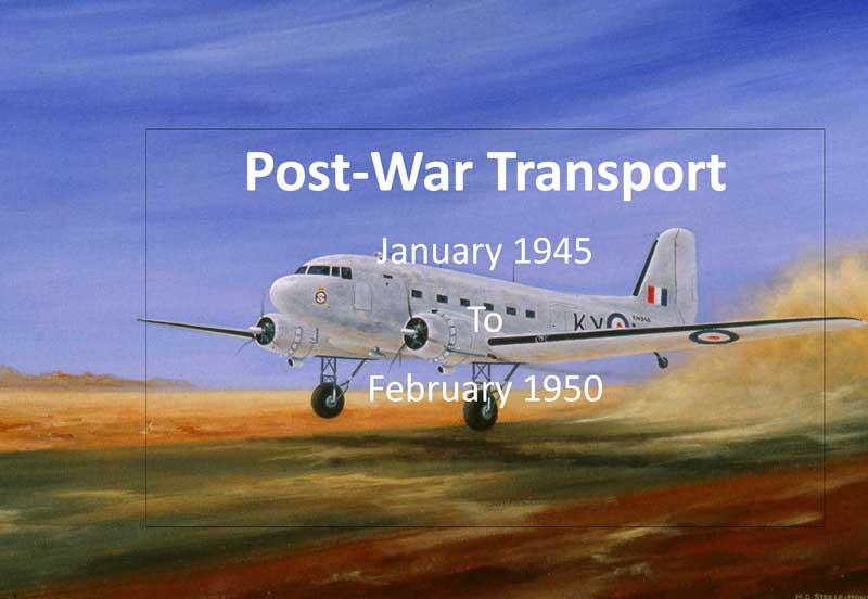 Post-War Transport