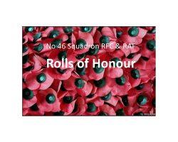 Rolls of Honour