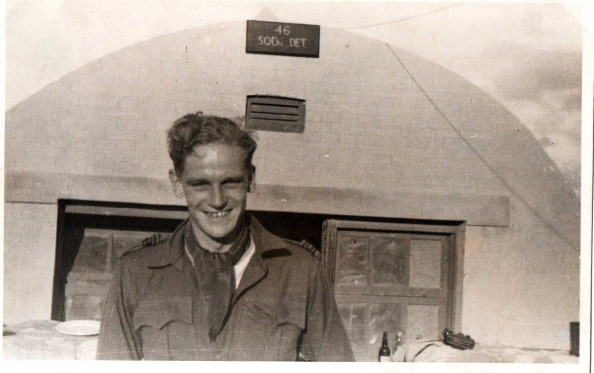 Peter Gifkins. 46 Sqn detachment. Abu Sueir 1943
